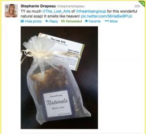 Stephanie Drapeau tweet