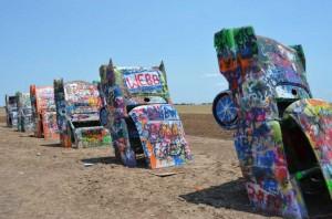 Day 13 - Texas Amarillo Cadillac Ranch 4