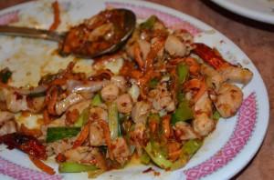 Day 6 - San Francisco Hunan 2 Mongolian chicken