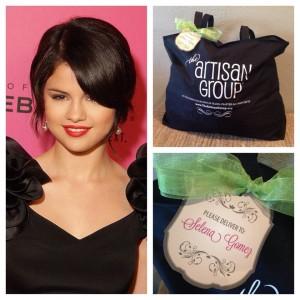 Selena Gomez gifting image 3